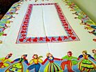 cotton+tablecloth+with+Dutch+men+and+women+dancing