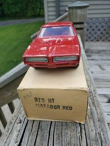 1969 GTO Matador  Red With Original Box Dealer Promo
