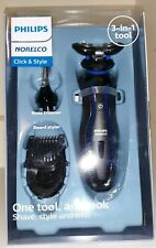 Philips Norelco - Click & Style Shave Style & Trim S740/80 Wet or Dry Shave