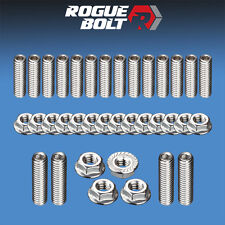 SBC OIL PAN STUD KIT BOLTS STAINLESS STEEL KIT SMALL BLOCK CHEVY 283 327 350 400