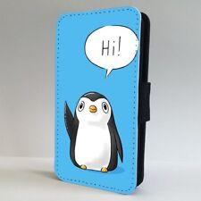Penguin Funda para Estuche de Teléfono Abatible de arte IPHONE SAMSUNG