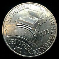 1979 AUSTRIA 100 Schilling Silver Coin. KM#2945