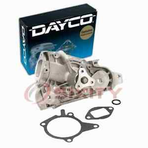 Dayco Engine Water Pump for 1996-2003 Mazda Protege 1.5L 1.6L L4 Coolant yj