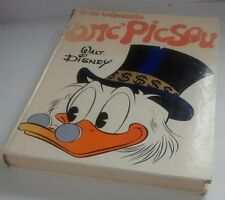 LA VIE TREPIDANTE D'ONC' PICSOU  Walt Disney French vintage book 1st edition