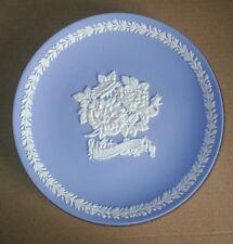 Wedgwood Jasperware Blue Mother 1989 Plate