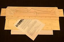 """ROYAL 1/8 Scale Mitsubishi A6M5 ZERO Laser Cut Short Kit, Plans & Instr. 62.5""""WS"""