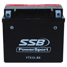 YTX12-BS AGM Battery for Suzuki VL800 Hayabusa GSXR1000 GSX1300R GSF1200 12V XQ