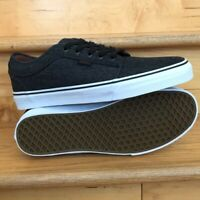 Vans chukka low denim black sneaker shoes men 12