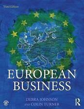 European Business, Johnson, Debra, Very Good condition, Book