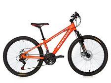 "Bici Bicicletta Montagna Mountain Bike 24"" MTB Allum. Shimano  2 x Disco Sosp."