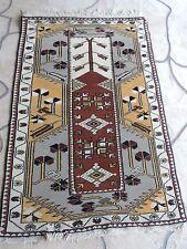 3x5ft. Handmade Tribal Turkish Melas Wool Prayer Rug