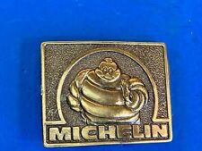 Michelin Man Tire Company advertising belt buckle