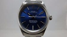 ROLEX VINTAGE STAINLESS OYSTER PERPETUAL 1002 TIFFANY & CO. DIAL