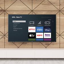 "onn. 50"" Class 4K UHD LED Roku Smart TV HDR"