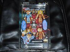 THUNDERCATS CLASSIC MINIMATES SET - CHEETARA/ TYGRA/ WILYKIT/ WILYKAT/ RO-BEAR