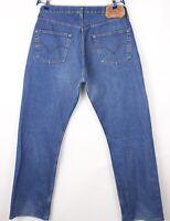 Levi's Strauss & Co Hommes 501 Jeans Jambe Droite Taille W38 L34 BBZ418