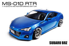 MST MS-01D RTR 1/10 Scale 4WD RC Drift Car (2.4G) w/carbody- SUBARU BRZ (Blue)