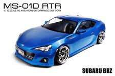MST MS-01D RTR 1/10 Scale 4WD RC Drift Car (2.4G) w/carbody- SUBARU BRZ (Blue)