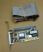 More details for tekram dc-390 isa scsi host adapter card complete with cable / ribbon