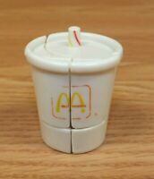 Vintage 1988 McDonald's Changable Soft Drink / Soda Collectible Toy **READ**