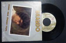"""7"""" -  BRANDO - COME UNA DONNA VERA - PALCOSCENICO - 1982 - MINT"""