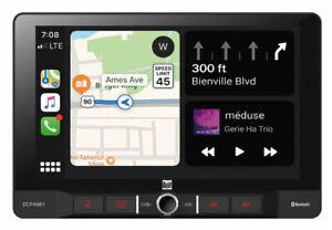"Dual DCPA901 9"" In-Dash Touchscreen Digital Media Carplay Receiver / Bluetooth"