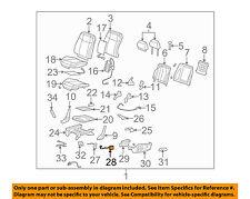Hummer GM OEM 06-10 H3 Power Seat-Adjuster Switch 19169160