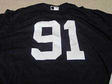 #91 NY Yankees Game Used 2013 Spring Training Jersey Steiner