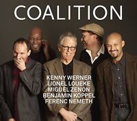 Coalition With Kenny Werner  Miguel Zenon &  Lionel Loueke CD NEW FACTORY SEALED