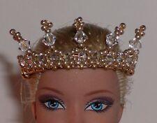 OOAK Art Doll/Barbie Crown/Tiara  -  U Pick Color