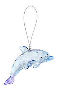 "Ganz Dolphin Acrylic Crystal Ornament/Suncatcher, 4"""