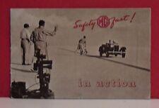 1952 MG In Action Racing Brochure