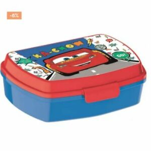 kid childrens cars sandwich box pasta food plastic tub container lunch boys