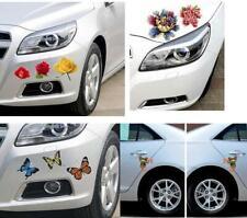 Creative Car Decals Flower Butterfly Decorative Stickers Scratch Stickers