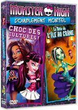 Monster high Choc des cultures / La bête de l'ile au crane DVD NEUF SOUS BLISTER