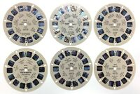 Lot of 6 Miscellaneous World Countries 1950s Sawyers Inc Reels View Master S445