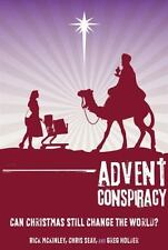 ADVENT CONSPIRACY by Rick McKinley FREE SHIPPING paperback Christian book Christ