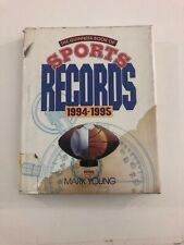 The Guinness Book of Sports Records, 1994-1995 (1994, Hardcover, Dust Jacket)