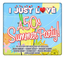 3 CD BOX I JUST LOVE 50s SUMMER PARTY COCHRAN AVONS AVALON DARIN HOLLY BASSEY
