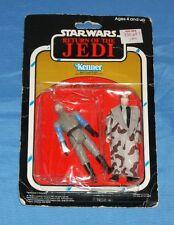 vintage Star Wars ROTJ 2-PACK MOC Han Trenchcoat & General Madine (creased card)