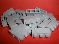 + LEGO   20  hellgraue  Bausteine  1x3  Noppen    NEU +