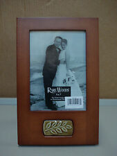 """New Burnes Of Boston Rare Woods Picture Frame Woodlands 5""""x 7"""" #93C"""