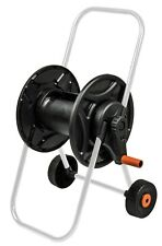 60m capacity hose reel/cart on wheels & optional accessories