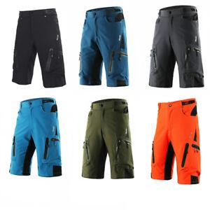 Herren Outdoor Sports Radhose MTB Downhill Mountain Bike Fahrrad Shorts Hosen