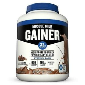 Protein Gainer Powder Supplement Muscle Mass Weight Gain Chocolate Flavor Shake