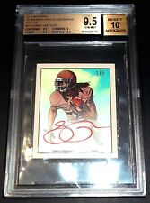(#1/5) = (1/1) BGS 9.5 10 Rc Red Sammy Watkins Auto 2014 Rookie Signed Autograph