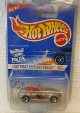 VHTF 5 SPK & PAINTED BLACK BASE 1997 FIRST EDITIONS HOT WHEELS BMW M ROADSTER