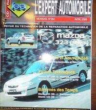 Revue technique MAZDA 323 ESSENCE DIESEL et TD depuis 1999 RTA EXPERT 384 2000
