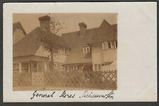 Postcard Micheldever Station nr Winchester General Stores duplex postmark RP