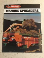 Avco New Idea Farm Equipment Manure Spreaders 8 Pages 1978